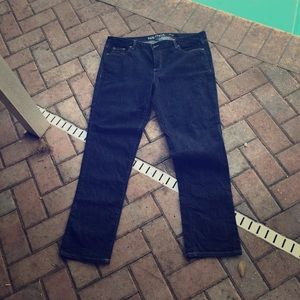 Nautica dark wash plus size jeans skinny